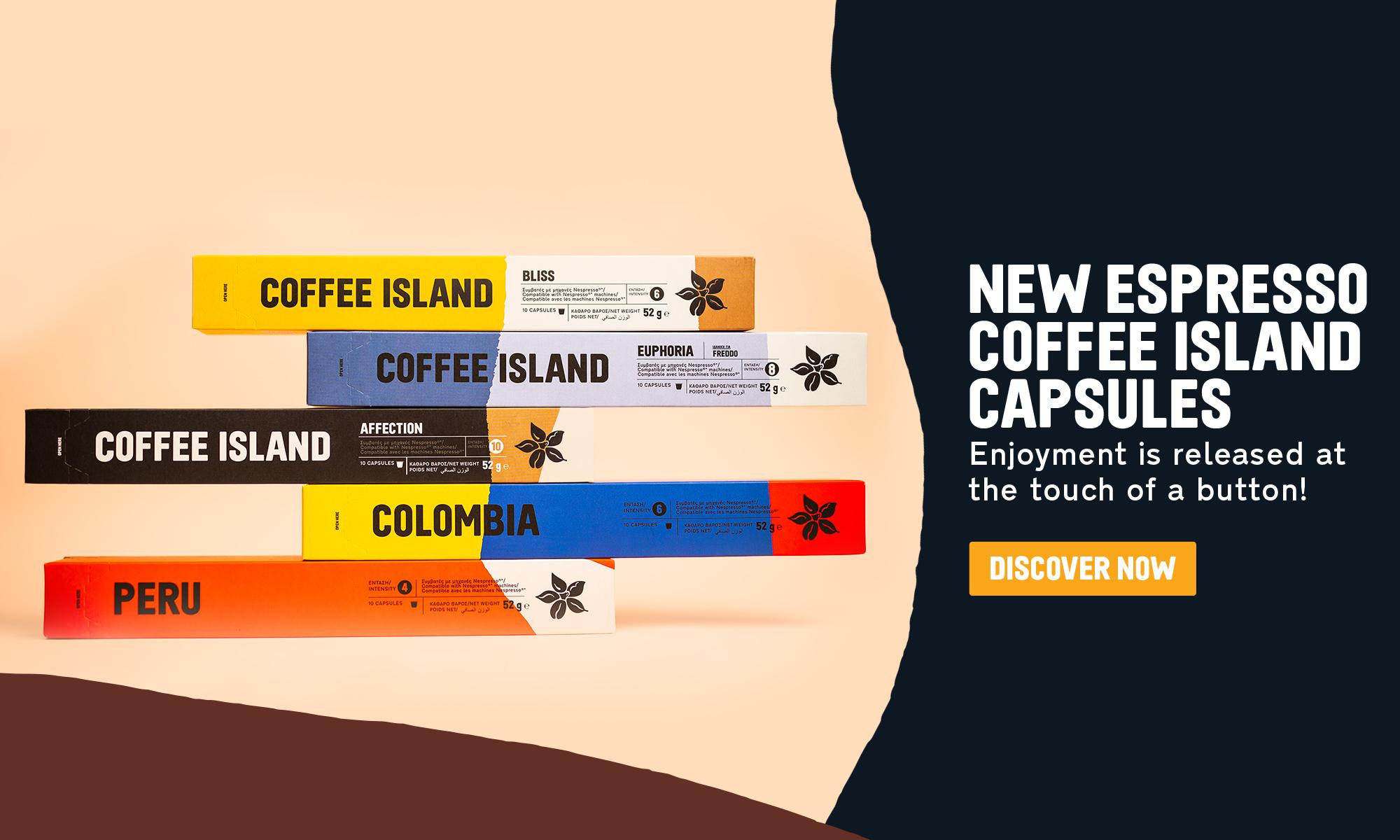 Coffee Island Welcome