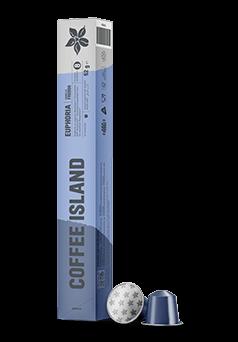 Aluminium Capsules Espresso Euphoria (10 pieces)