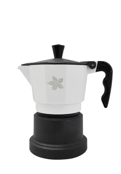Espresso Stove Top Maker (white - 3 cups)