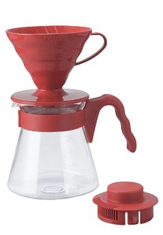 Hario V60 Pour Over Kit 02 Red