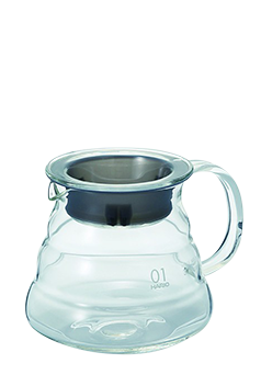 Hario V60 Range Server Clear 01 (glass-360ml)