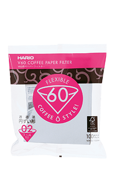 Hario V60 Filter Papers 02 (white-pack of 100)