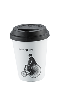 Coffee Island Premium Mug (for the road-380ml-black lid)